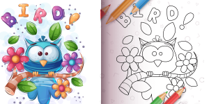 How To Use Birds Coloring Book