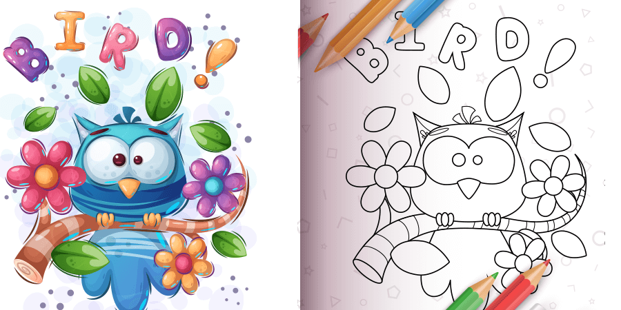 Read more about the article How To Use Birds Coloring Book