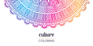 How To Use Culture Coloring Book