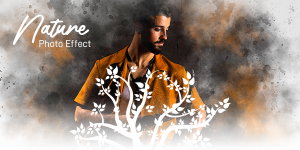How To Apply Nature Effects On Photo Using Photo Lab