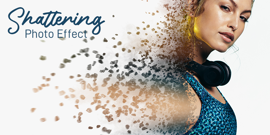 How To Apply Shattering Effects On Photo Using Photo Lab